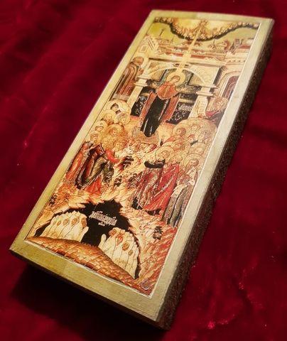 Икона Божией Матери Непроходимая Дверь на дереве на левкасе  мастерская Иконный Дом