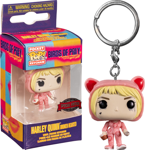 Birds of Prey. Harley Quinn Broken Hearted Special Edition Pop! Keychain || Брелок Харли Квинн