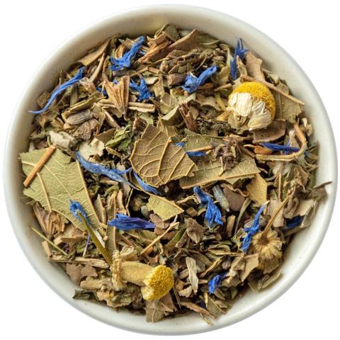 Травяной чай с мятой,  ромашкой и лавандой