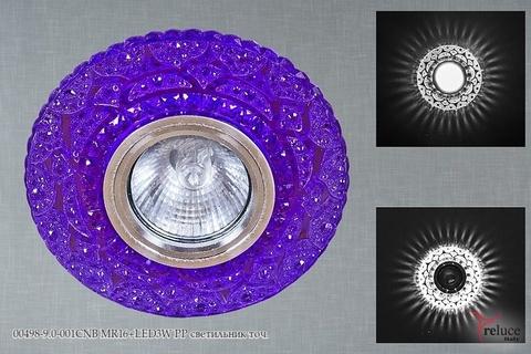 00498-9.0-001CNB MR16+LED3W PP светильник точ.