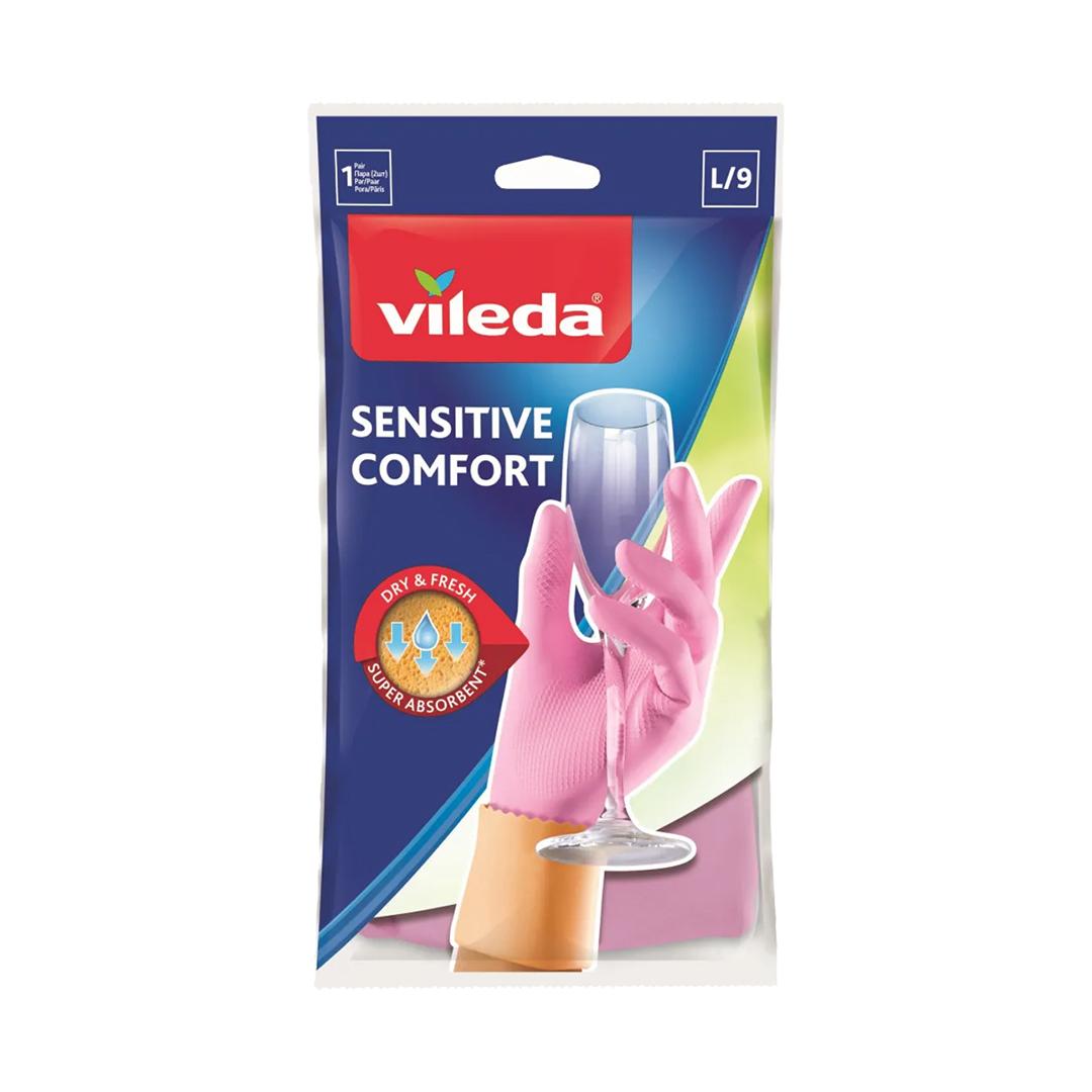 Перчатки VILEDA для деликатных работ, размер L