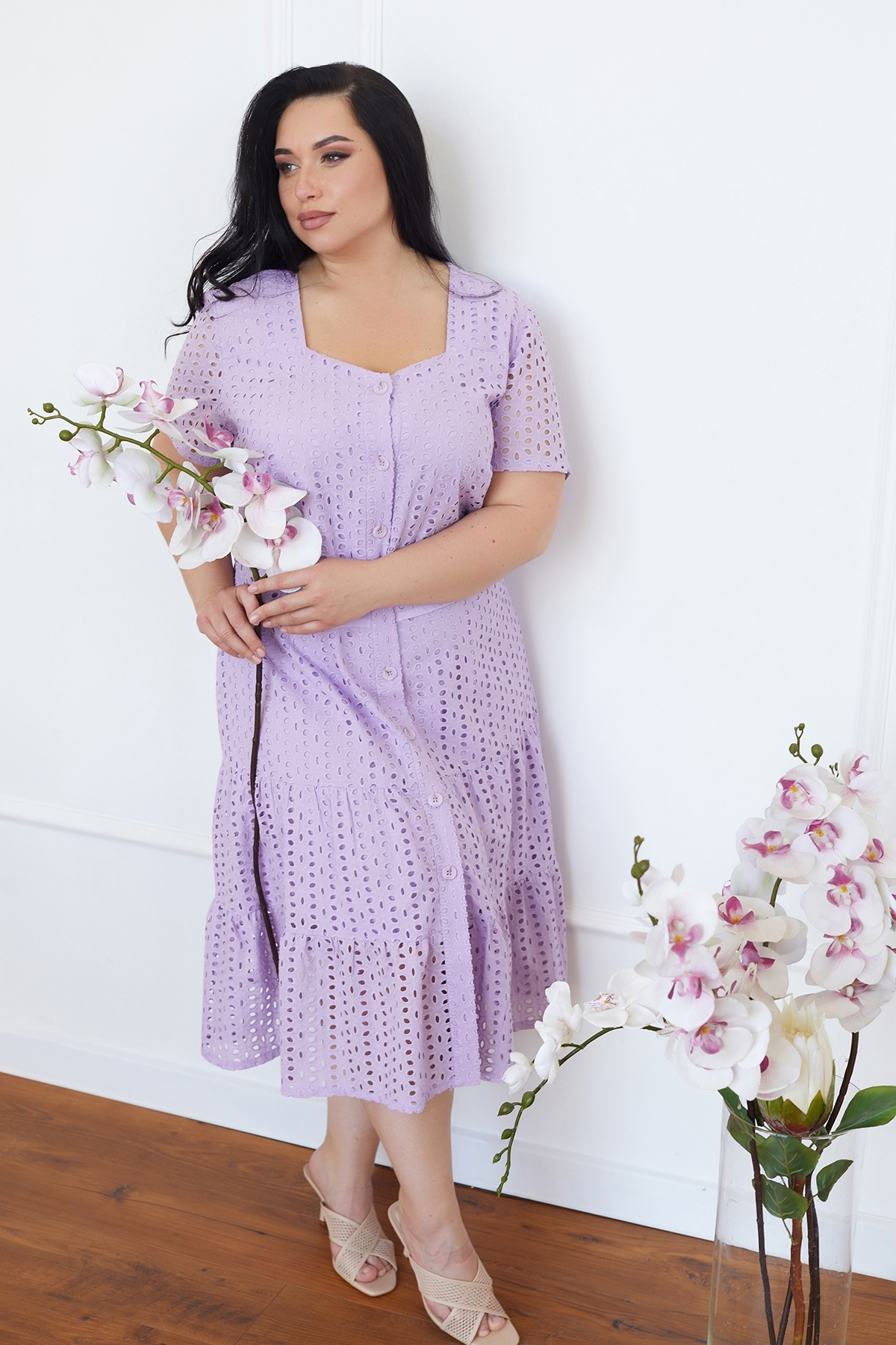 Сукня Віолетта  (Виолетта) (сирень),прошва