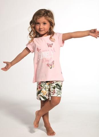 Пижама для девочек с шортами CORNETTE 361/362
