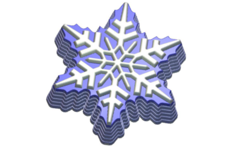 Снежна. Форма для мыла пластиковая