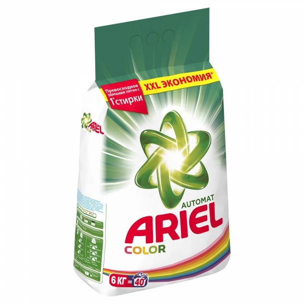 Стиральный порошок ARIEL color 6 кг (автомат)