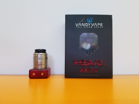Дрипка Phobia V2 RDA by Vandy Vape