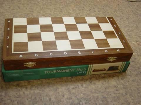 Шахматная доска складная деревянная №5 (47 х 47 см)