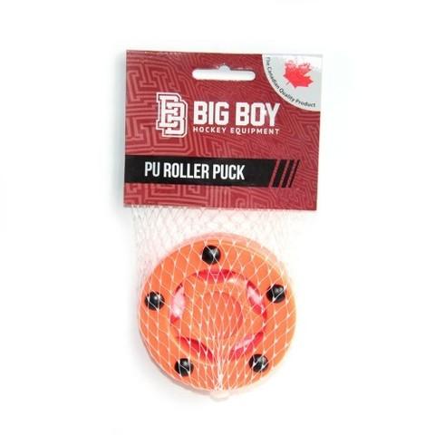 Шайба для стрит-хоккея BIG BOY PU оранжевая