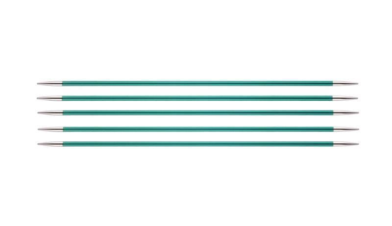 Спицы KnitPro Zing чулочные 3,25 мм/20 см 47036