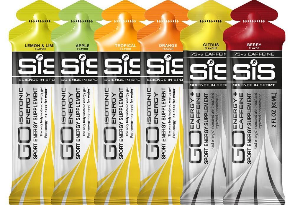 Мультипак гелей SiS Go Isotonic Energy Gel микс, 6 шт