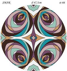 Эскиз для росписи, Круг диаметр-47,5см, SMAR-st-66