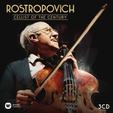 Mstislav Rostropovich / Cellist Of The Century (3CD)