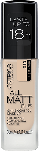 Catrice All Matt Plus Shine Control Make Up тональный крем 30мл