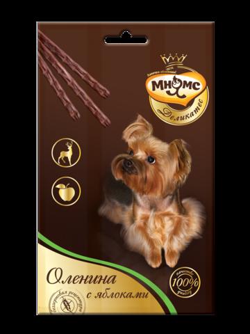 Мнямс Деликатес лакомые палочки 13,5 см для собак (с олениной и яблоком) 3х11 г