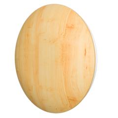 Эра 12,5DW Pine ms, Анемостат c металлическим фланцем и деревянным обтекателем для бань и саун, сосна с распорными лапками, D125