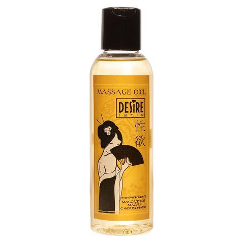 Массажное масло с феромонами Desire - 150 мл.