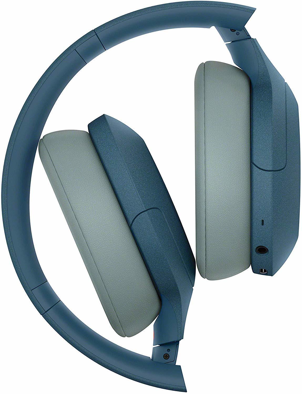 Наушники Sony WH-H910NL синего цвета в официальном интернет-магазине