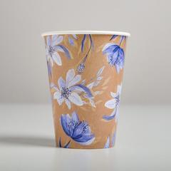 Стаканчик для цветов «Гжель», 11 х 8,5 см