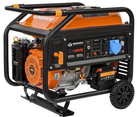 Генератор бензиновый Daewoo GDA 6800E  Exspert Line
