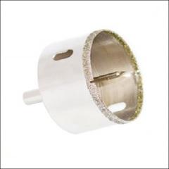 Коронка алмазная с центровым сверлом СТК-066 (D=50-100мм)