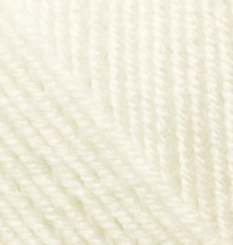 Купить Пряжа Alize SUPERLANA KLASİK Код цвета 001 | Интернет-магазин пряжи «Пряха»