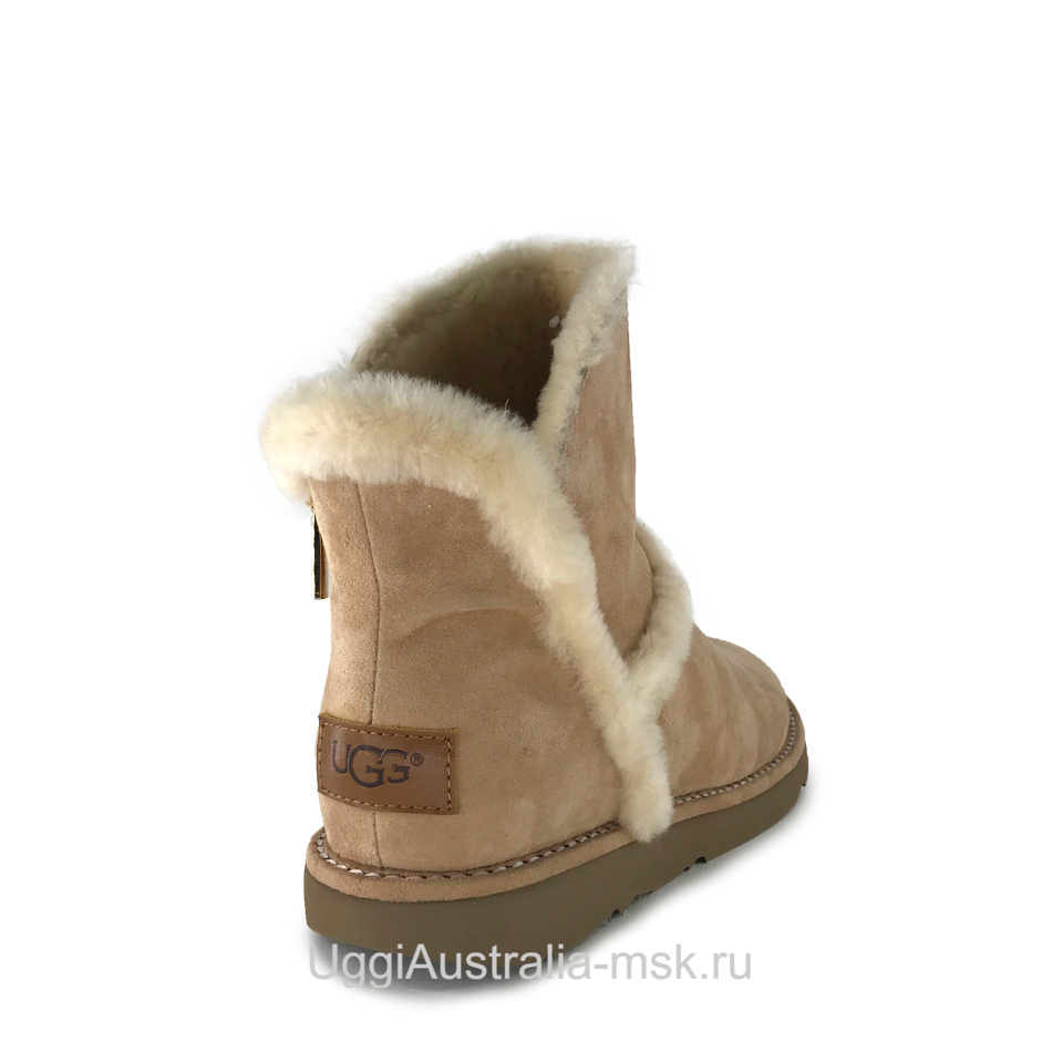 UGG Luxe Spill Seam Mini Boot Sand