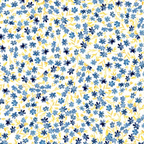 Маленькие синие цветочки