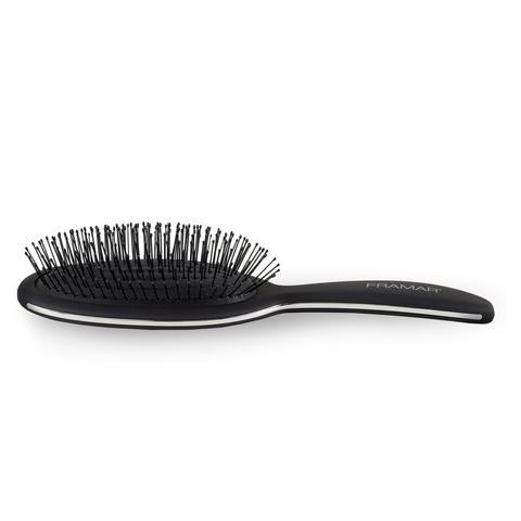 Framar Detangle Brush - Black To The Future | Распутывающая щетка для волос «Снова в черном» фото 3