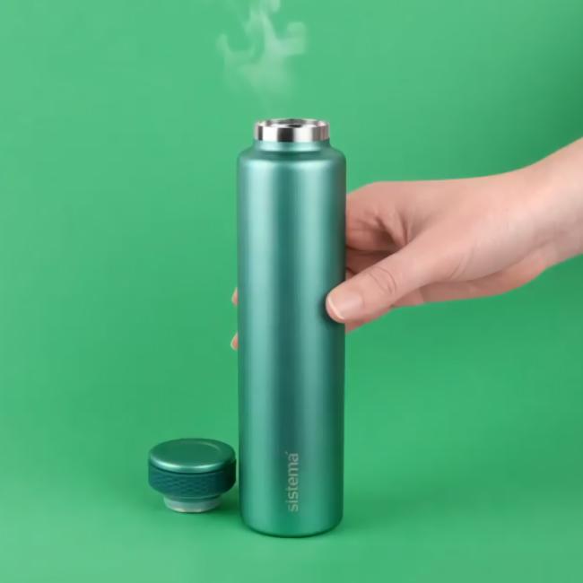"""Термобутылка Sistema """"Hydrate"""" 280 мл, цвет Зеленый"""