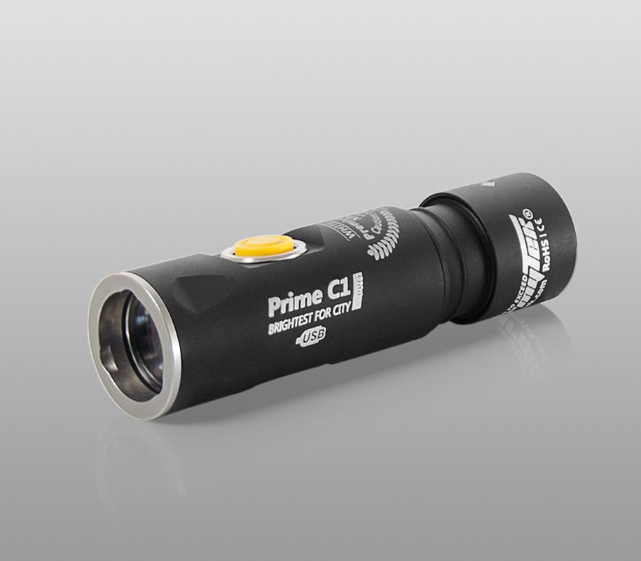 Фонарь на каждый день Armytek Prime C1 Pro Magnet USB (тёплый свет) - фото 1