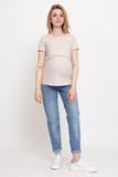 Джинсы для беременных (BOYFRIEND) 12617 голубой
