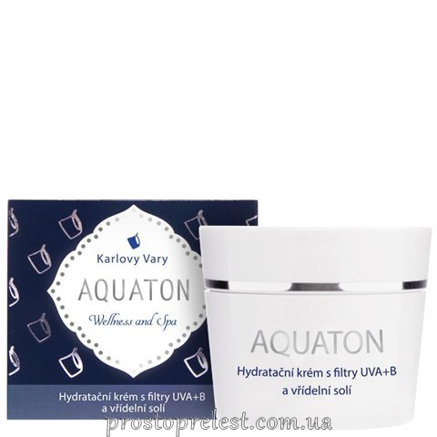 Ryor Aquaton Hydrating Cream - Зволожуючий крем для обличчя Акватон з УФ-фільтром