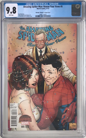 CGC Amazing Spider-Man: Renew Your Vows #5. Обложка 1. Состояние 9,8