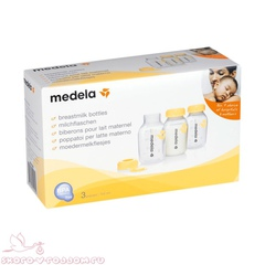 Medela. Бутылочка-контейнер для сбора молока 150 мл, 3 шт