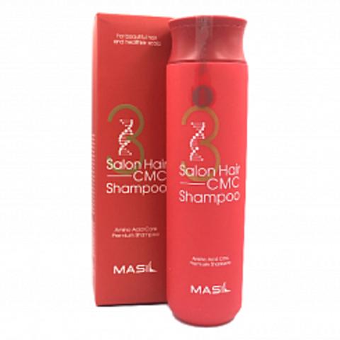 Восстанавливающий шампунь с аминокислотным комплексом MASIL 3 Salon Hair CMC Shampoo - 300 мл
