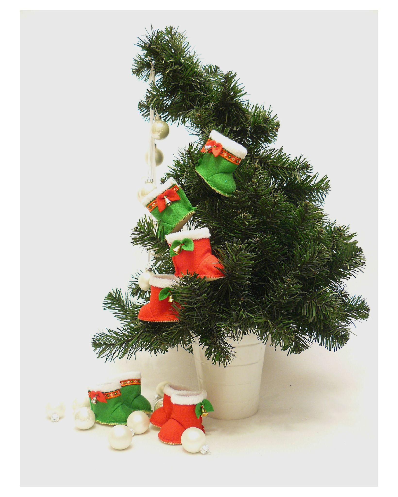 Сапожки угги к Новому Году и Рождеству