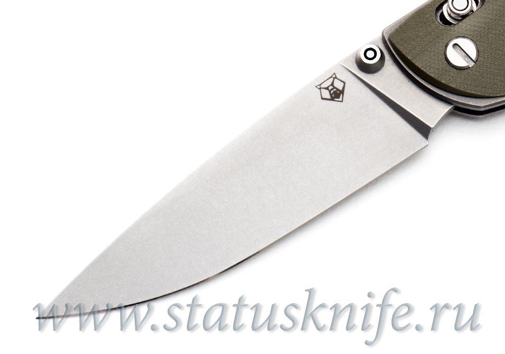 Нож Широгоров Табарган 100NS G10 олива S35VN - фотография