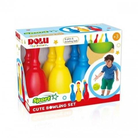 Миленький набор боулинг Dolu из 6 кеглей и 1 шаром DL_6171