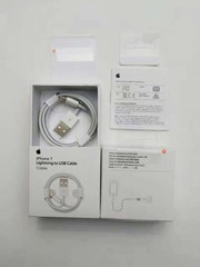 Packing for Lightning to USB Cable iPhone7 Orig 5 Parts (苹果包装5样) MOQ:50