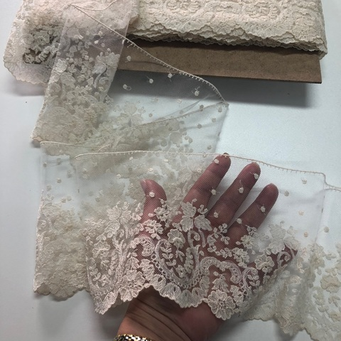 Кружево Till cotton ecru 21637