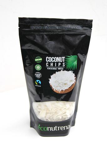Кокосовые чипсы органические 100% мякоть кокоса