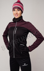 Женская утепленная лыжная куртка Nordski Active Purple-Black
