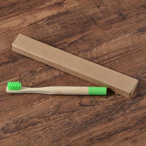Зубная щетка из бамбука маленькая