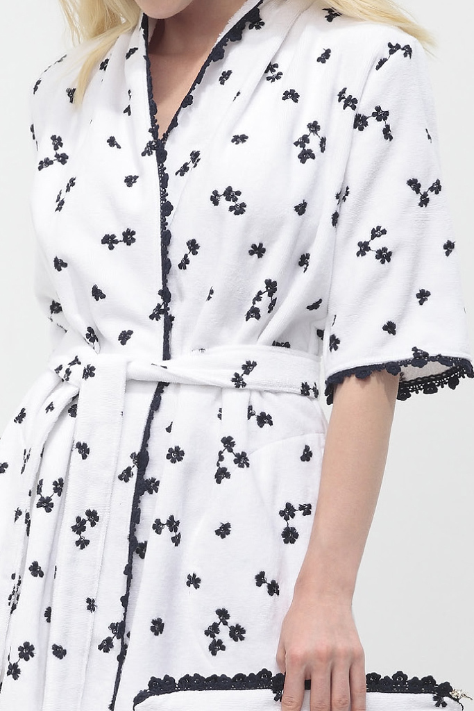 Эксклюзивное махровое кимоно Luna di Giorno