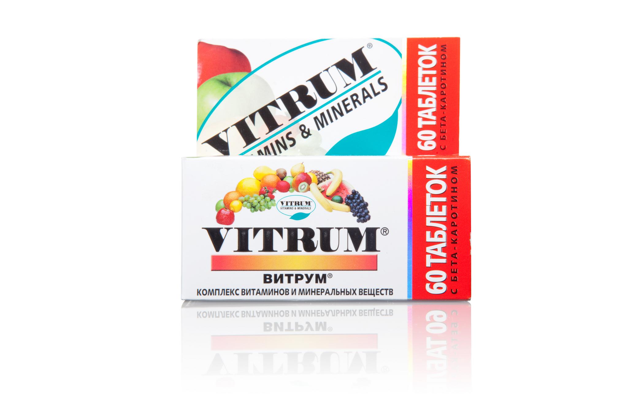Витрум комплекс витаминов 60 табл.