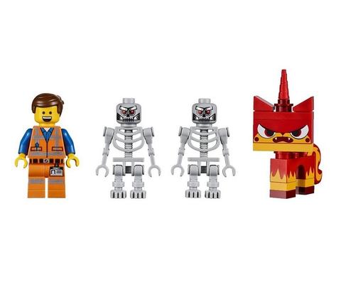 LEGO Movie: Робот-конструктор Эммета 70814 — Emmet's Construct-o-Mech — Лего Фильм Муви