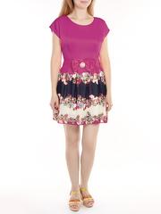 610-3 платье женское, фуксия