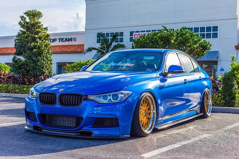 койловеры BMW F30, F32, F33, F20, F21, F22