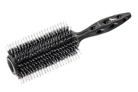 Брашинг Y.S.Park Tiger Brush 650 Black Carbon 67 мм с натуральной щетиной
