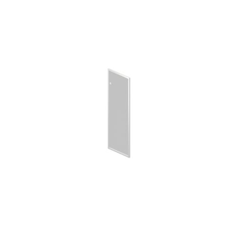 R-04.1 Дверь стеклянная в алюминиевой раме